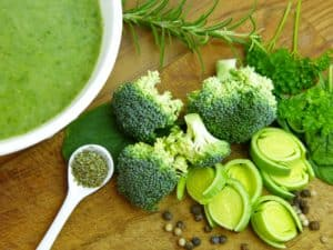 healthy diet, green, vegetables, fresh broccoli