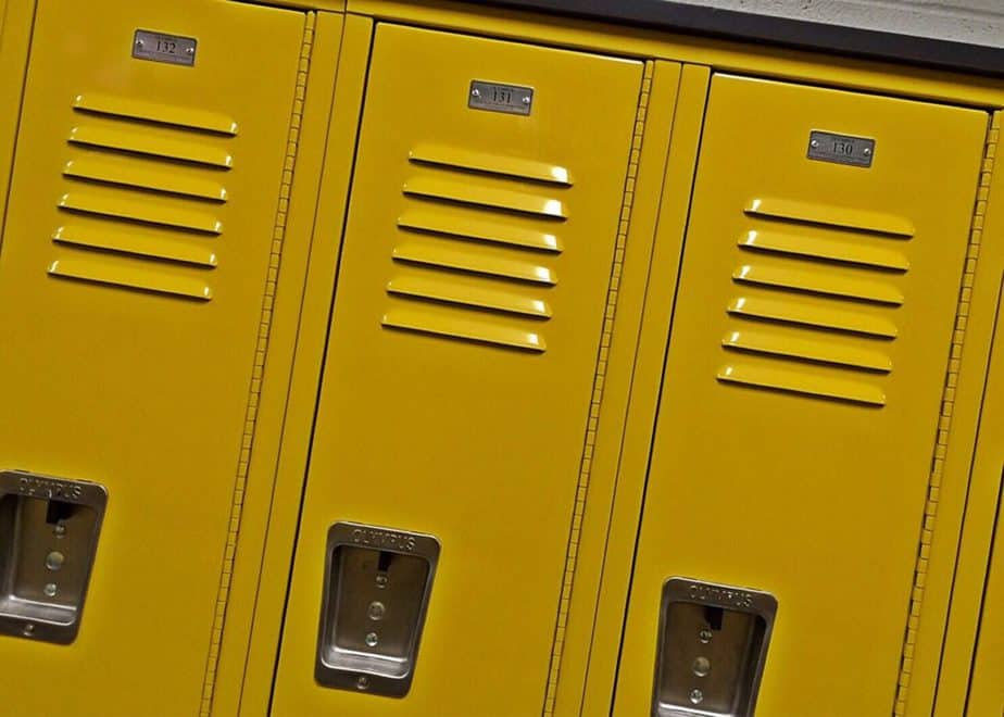 lockers, gym