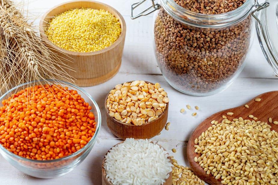 whole grains vitamin b