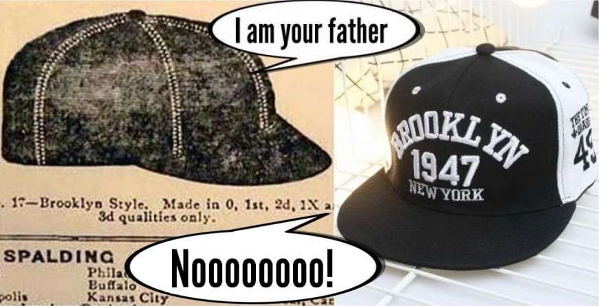 brooklyn style cap vs snapback