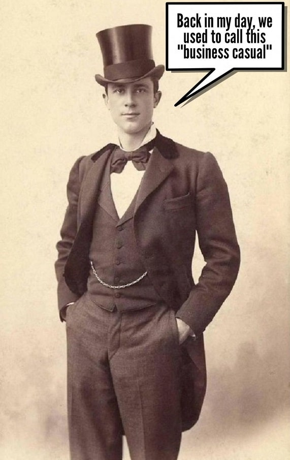 old vintage photo elegant man