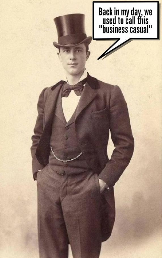 old vintage photo elegant man