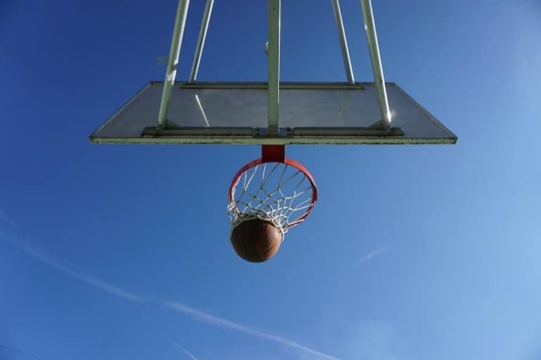 free throw basketball net