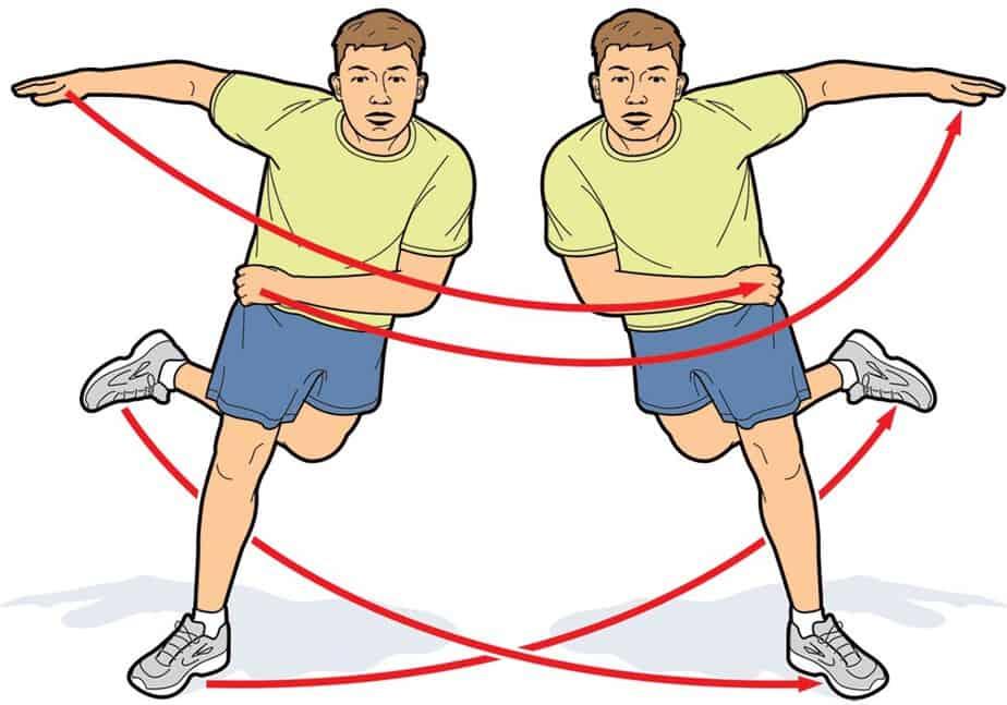 skater hops exercise