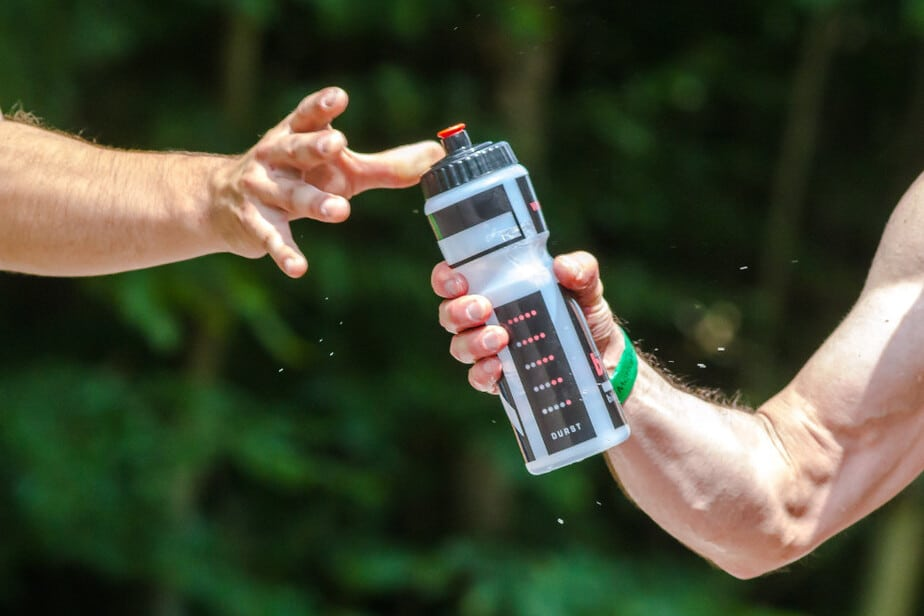 stay hydrated sports water bottle
