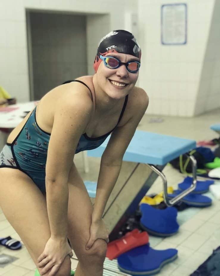Milica Gruic swimmer