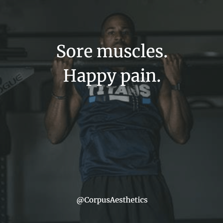 gym inspiration, sore muscles, happy pain, a guy in the gym is having a training for pull up challenges