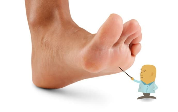 balls of your feet, proper foot landing for runners, sports anatomy
