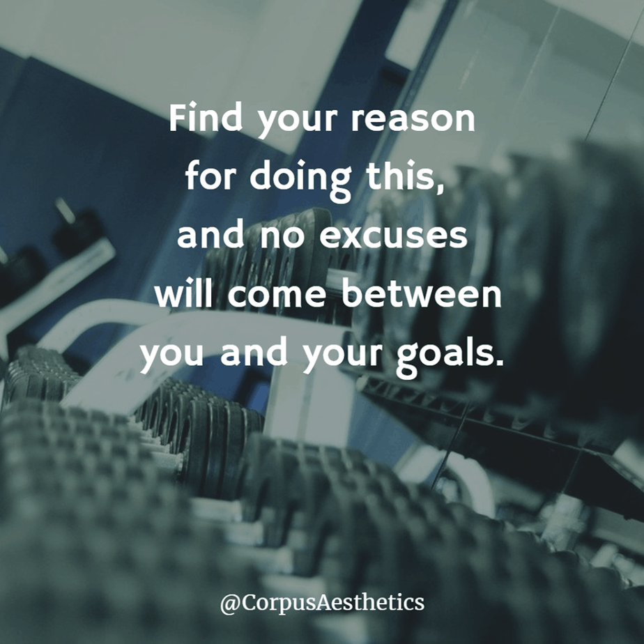 gym motivational quotes, Find your reason for doing this, there is a different gadgets at the gym