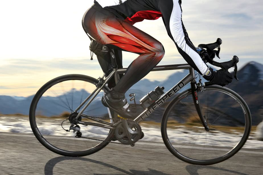A biking is the best workout for the whole body parts