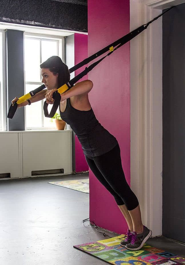 Total Resistance exercises system at home