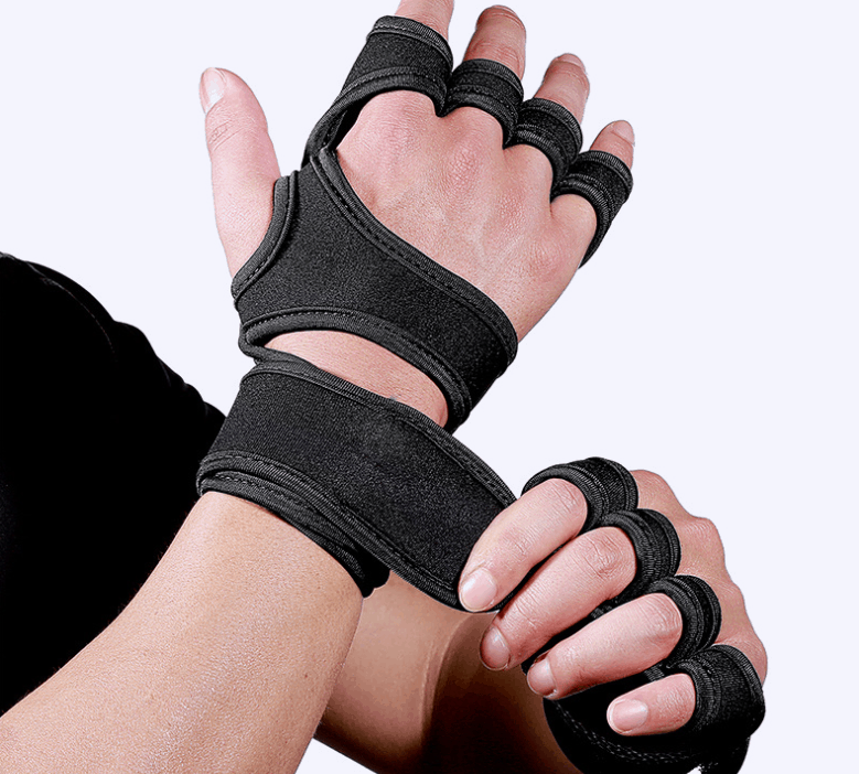 A fitness gloves for protection