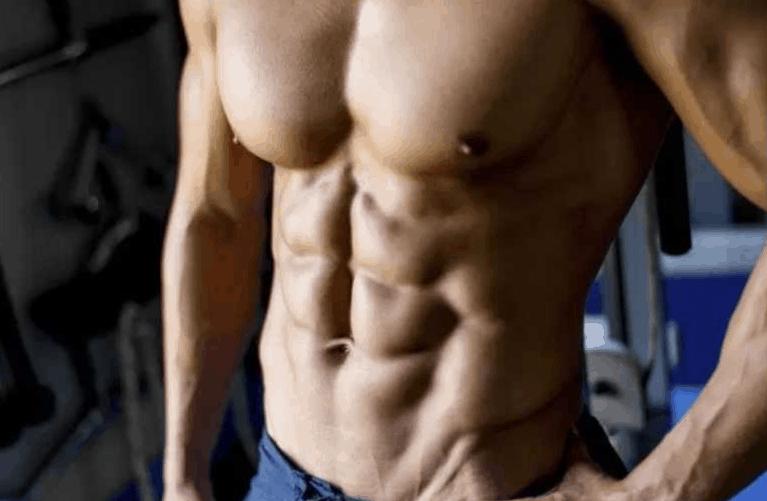 a muscular bodybuilder