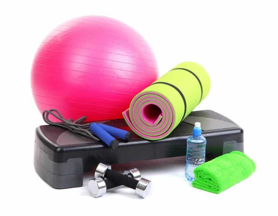 A portable gym equipment