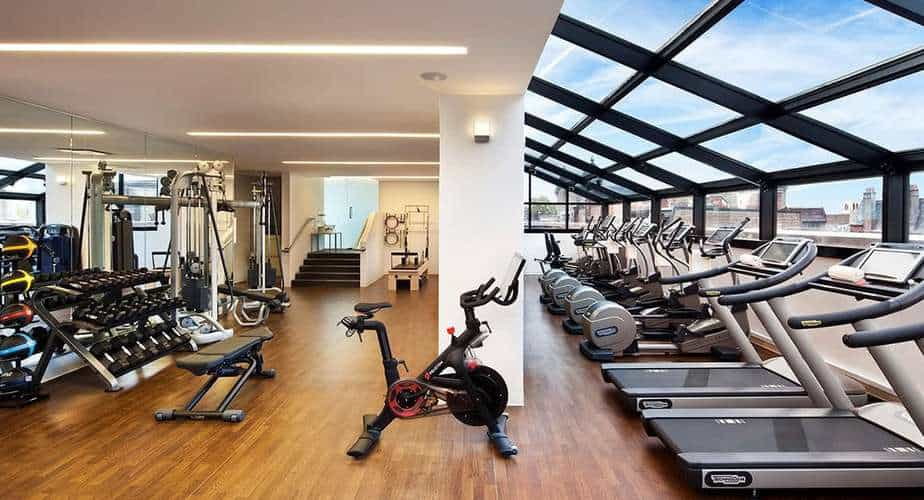 Hotel Gyms with the Best Views   Spafinder