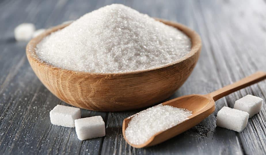 A bowl of sugar