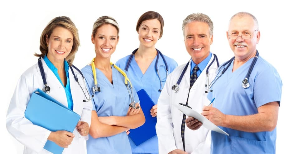 The various types of doctors are managing pain