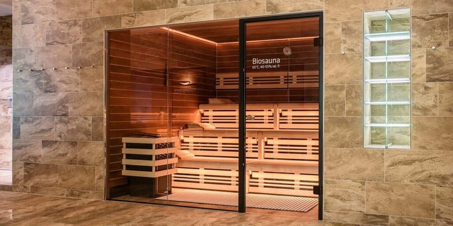 There is a biosauna on this picture