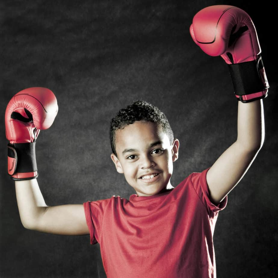 A confidence kid in boxing