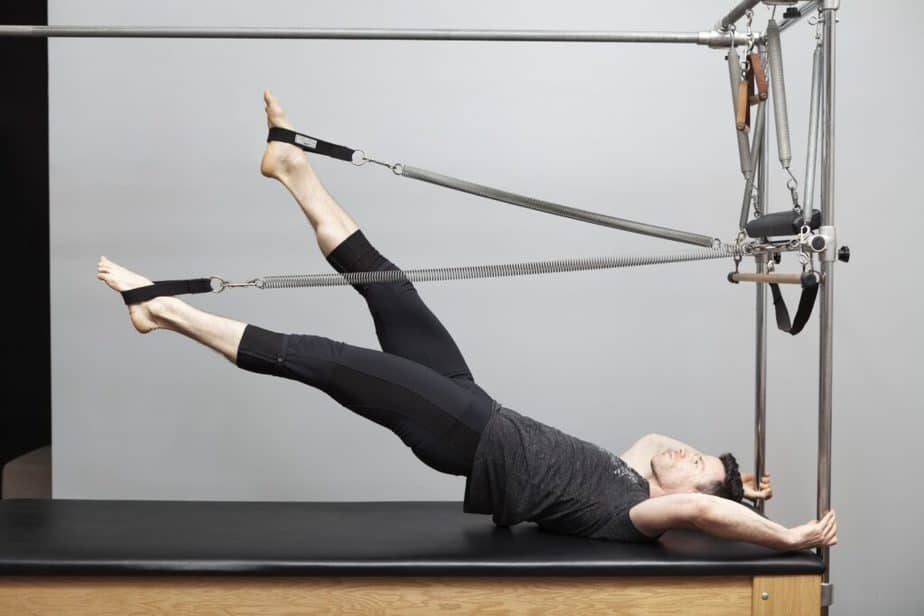 One of Pilates benefits - muscle strengthening.
