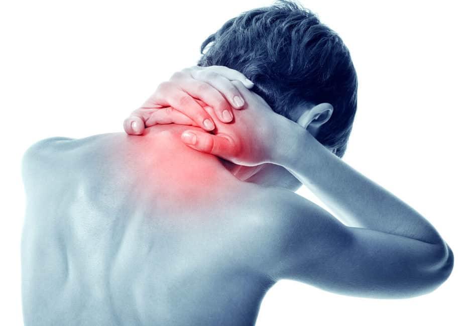 A guy has a chronic neck pain.