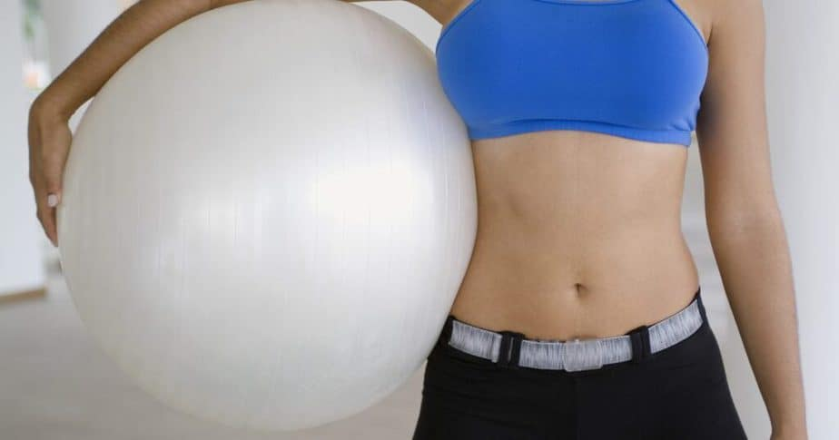 One of Pilates benefits is flat stomach.