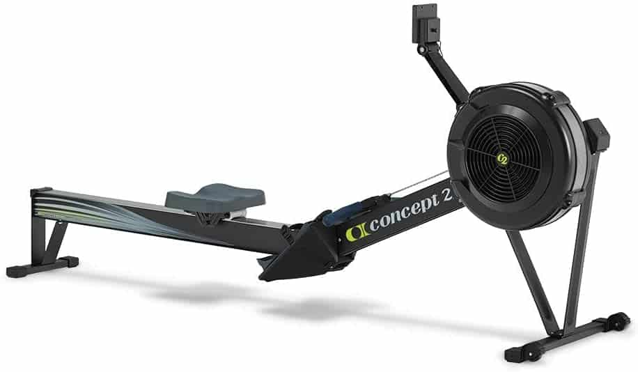 There is rowing machine model D with PM5 on this picture.