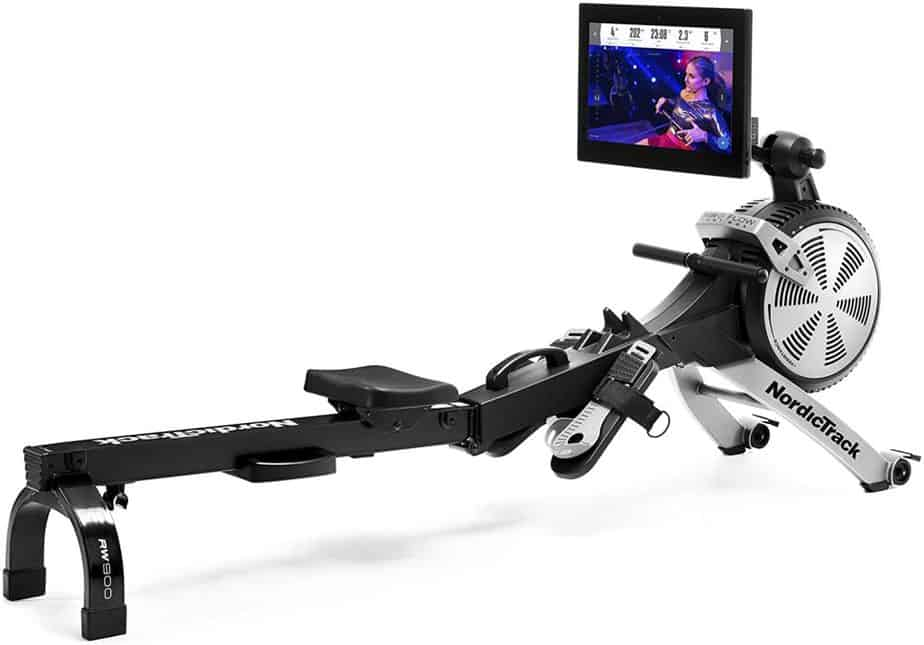 NordicTrack RW200 Rowing Machine on this picture.