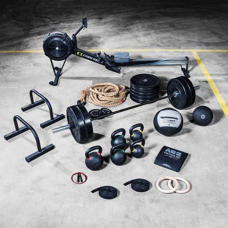 Low budget gym equipment.