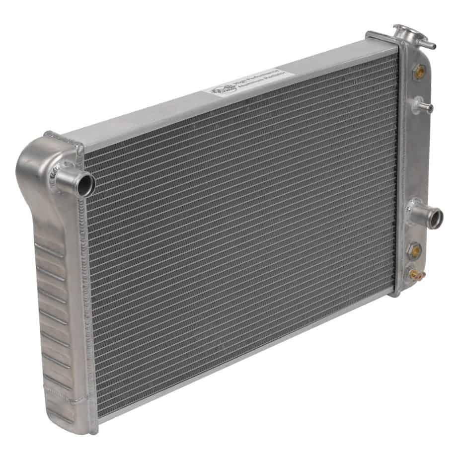 A radiator for gym garage.