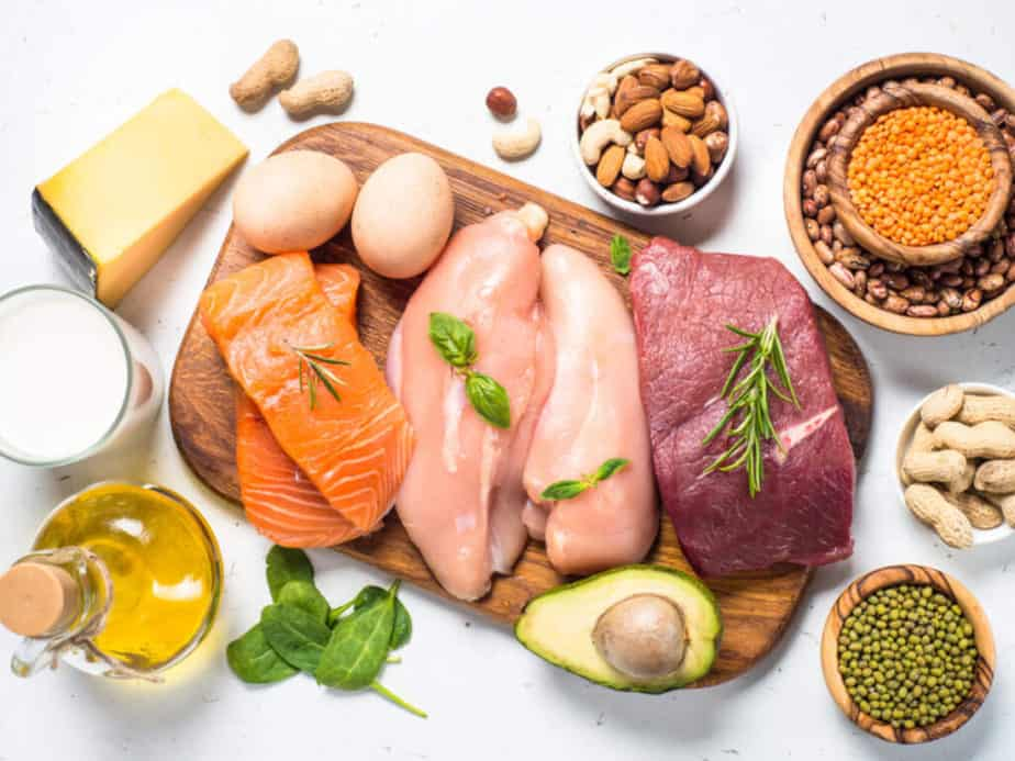 Protein diet food.