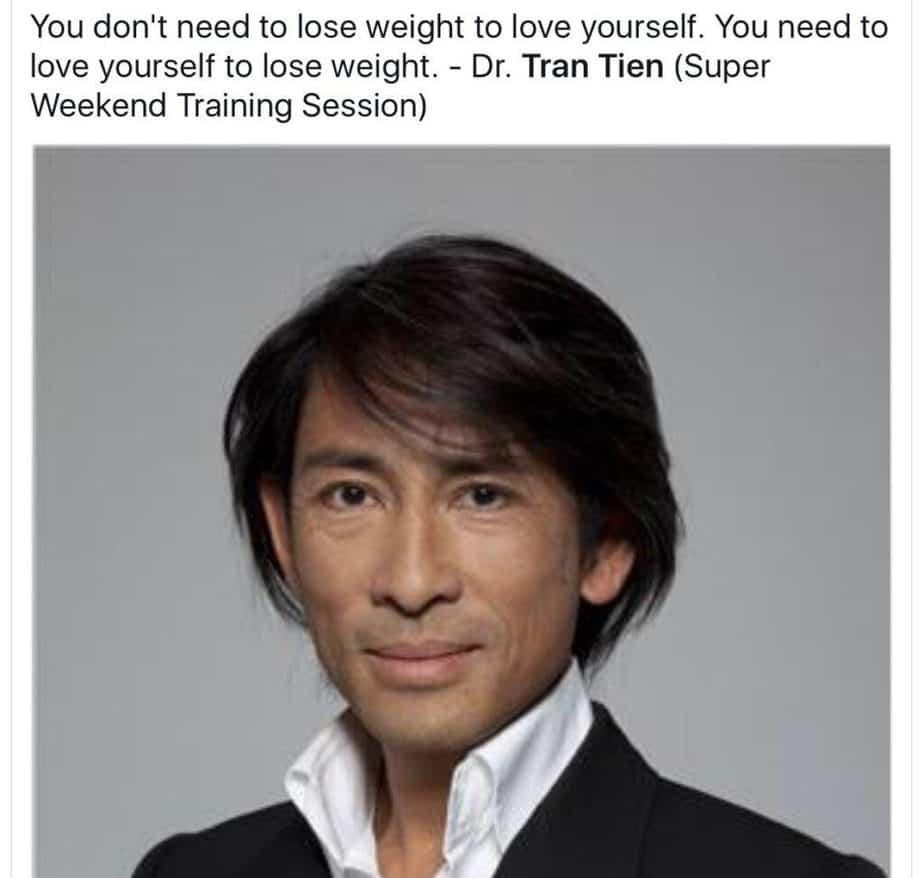 Protein diet inventor - dr. Tran Tien Chan.