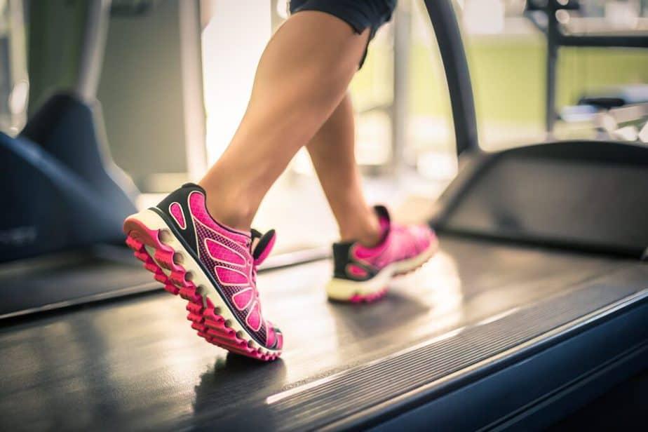 Avoiding cardio training mistakes - Walking slowly on a treadmill.
