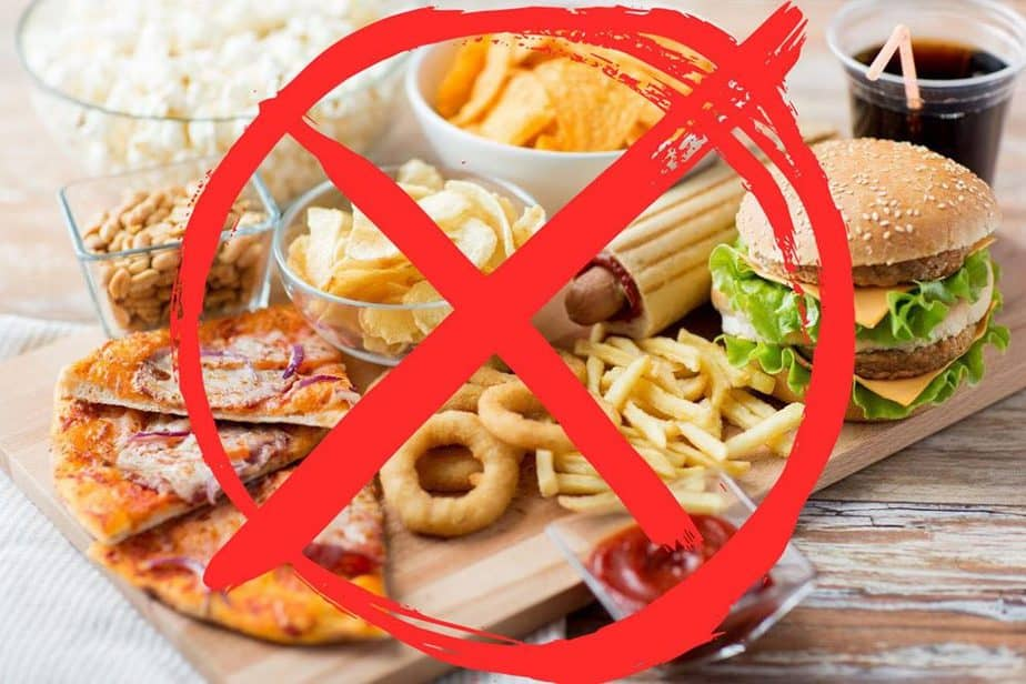 Not allowed food for protein diet.