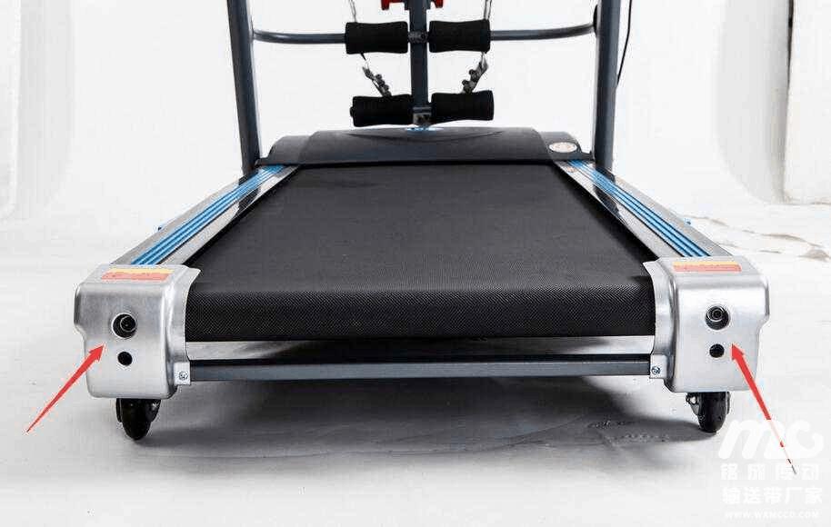 A belt of cardio machine - treadmill.