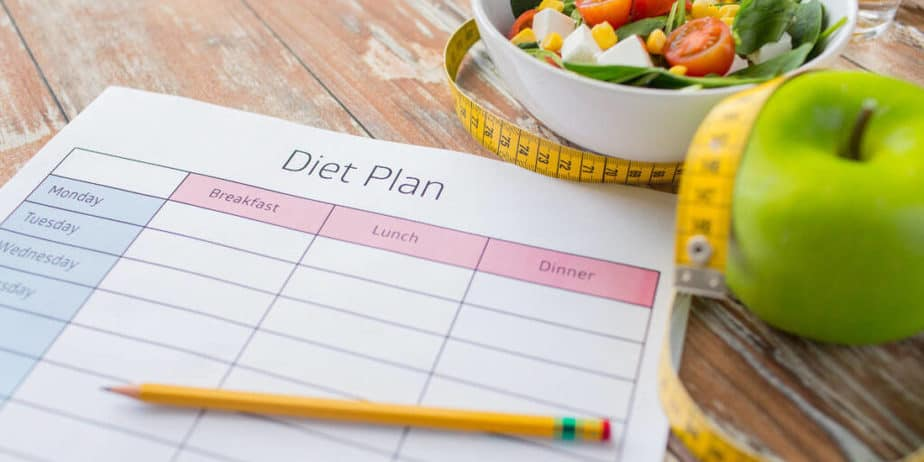 A plan for healthy weight loss.
