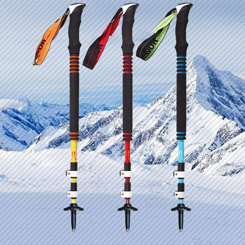 Ultralight sticks for Nordic walking.