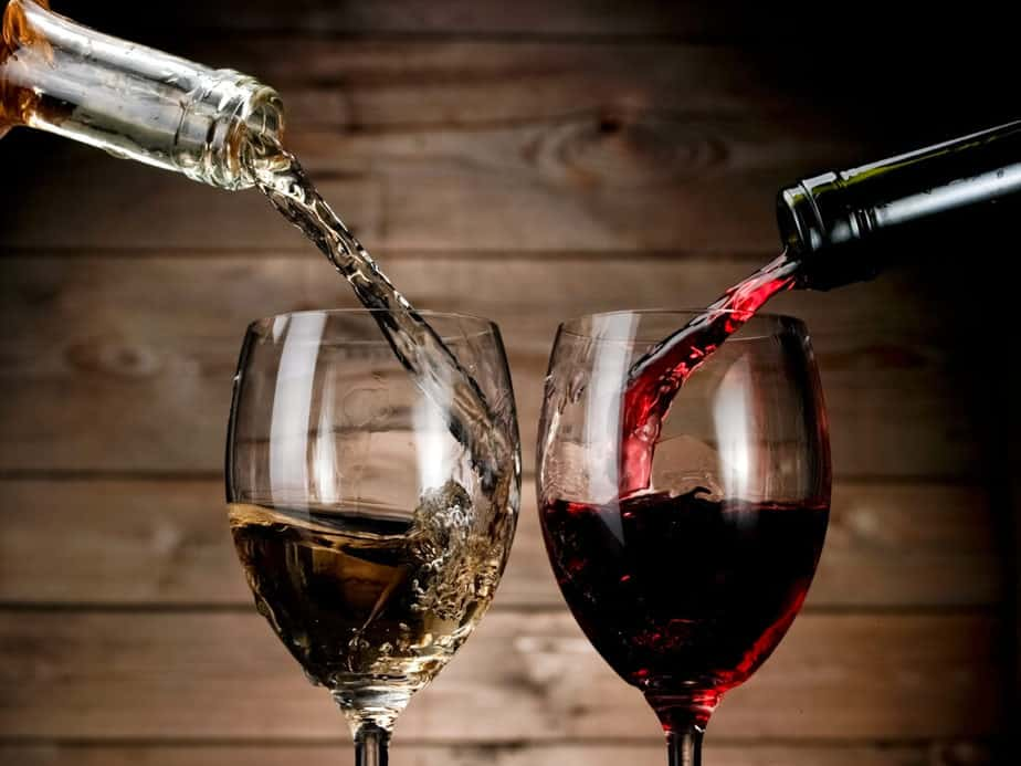 Which is your choice?  Red or white whine?