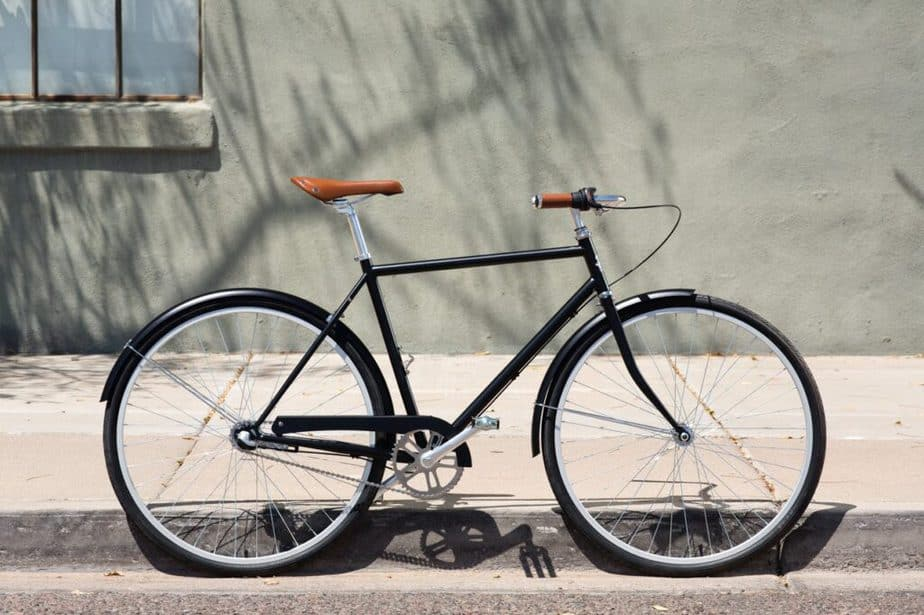 City bicycle.