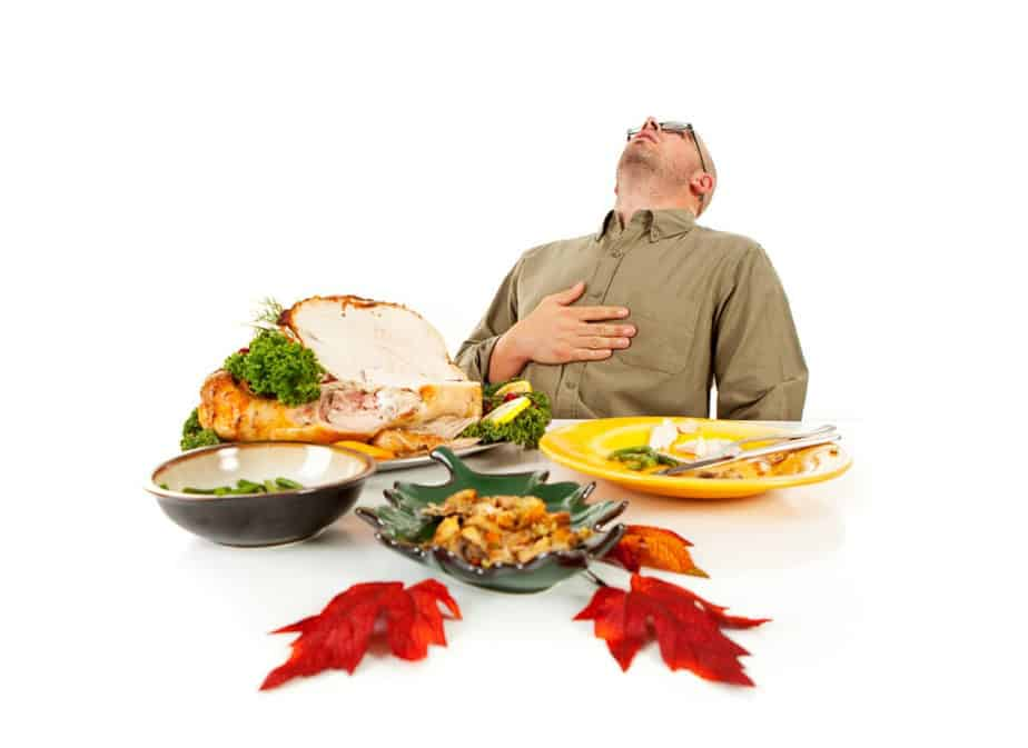 Overeating is bad for reducing weight.