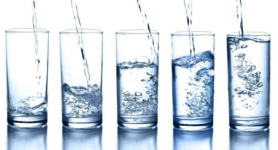Lose extra pounds - drink plenty of water
