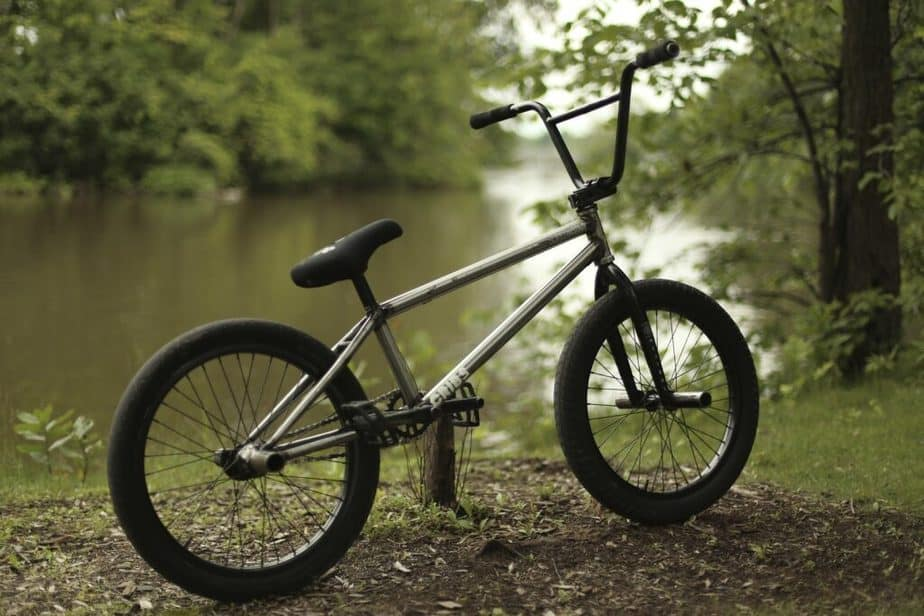 One type of bicycle - BMX.