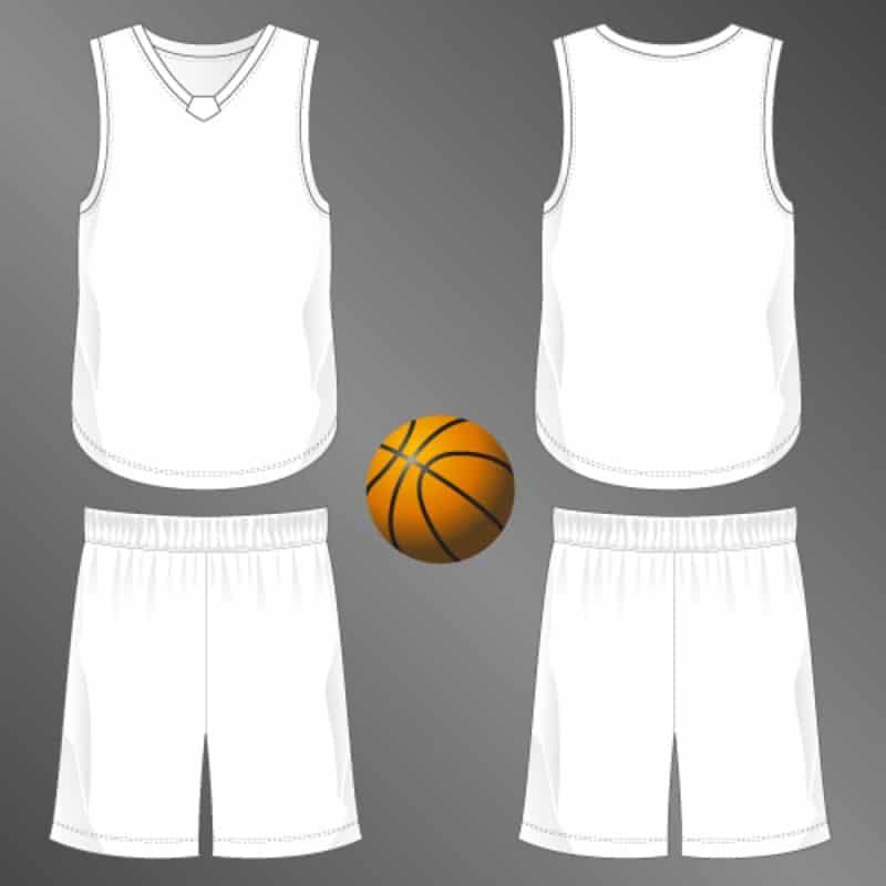 Basketball jersey.
