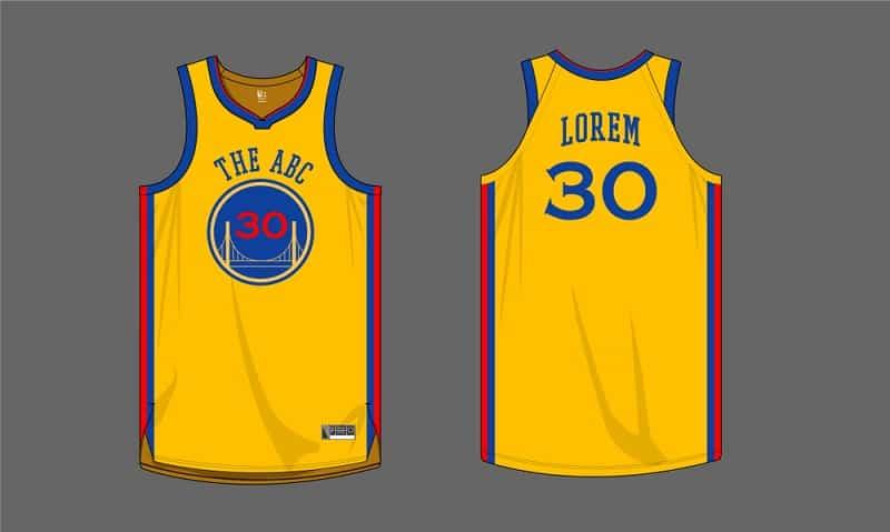 Basketball shirt.