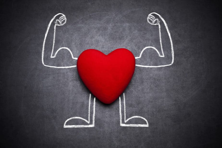 Weight training improves the function of heart.