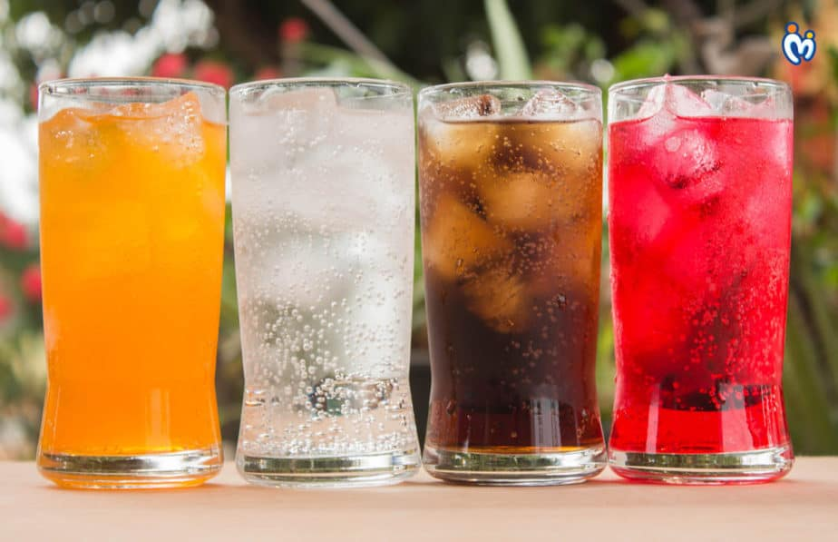 Carbonated drinks.