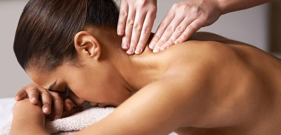 5 Ways to Effectively Massage Your Partner - partner neck massage.