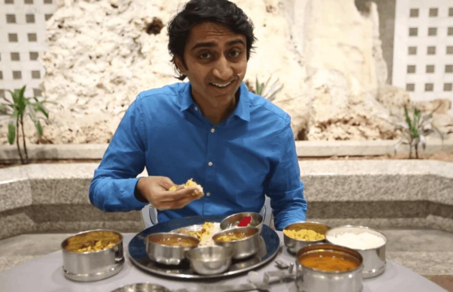Hindu meal - turmeric