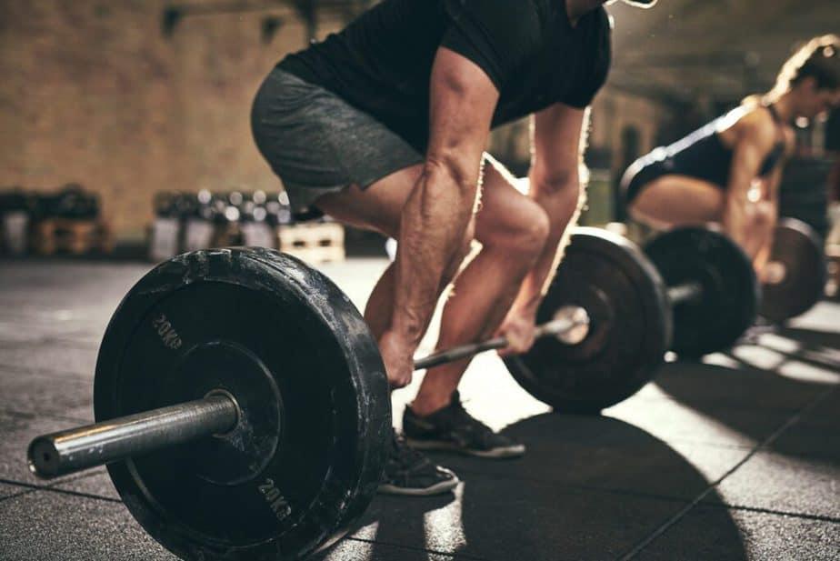 Gym weightlifting