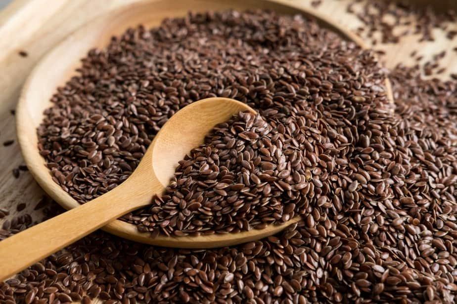 flax seeds contain fiber